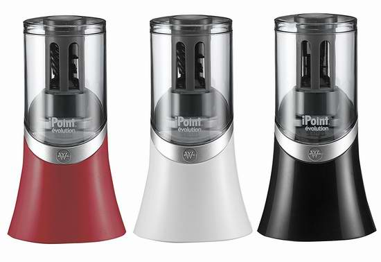 历史新低!Westcott iPoint Evolution 14904 全自动电动卷笔刀3.9折 15.59元限时特卖!