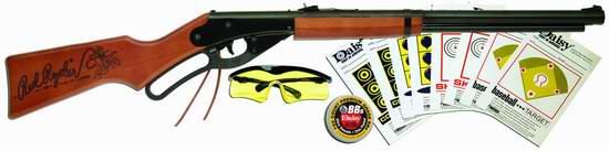 历史新低!Daisy Outdoor Products Red Ryder 户外趣味玩具枪(90厘米长)射击套装3.5折 21.07元限时特卖!