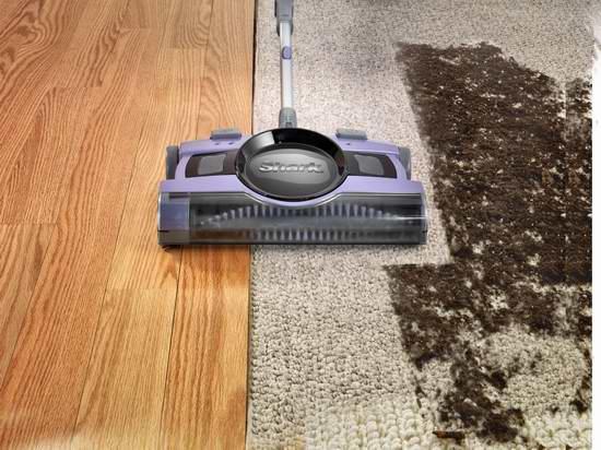 历史新低!Shark V2950 13英寸充电式 地板/地毯 扫地机4.7折 54.99元限时特卖并包邮!
