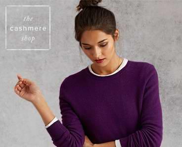 精选36款 LORD &TAYLOR女式时尚羊绒毛衣 59.99元起特卖!
