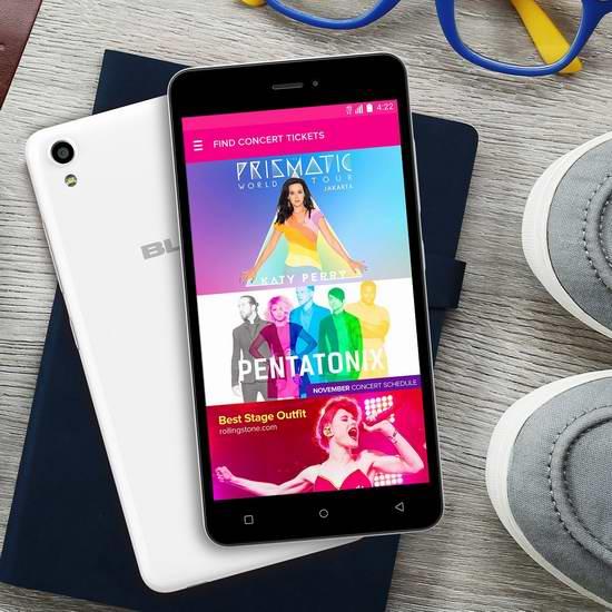 历史新低!BLU Studio M 5英寸解锁版双卡双待智能手机 92.99-99.99元限时特卖并包邮!