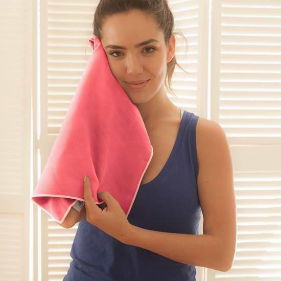 历史新低!YogaRat SportLite 超柔软速干洗脸帕/毛巾两件套5.7折 10.8元限时特卖!