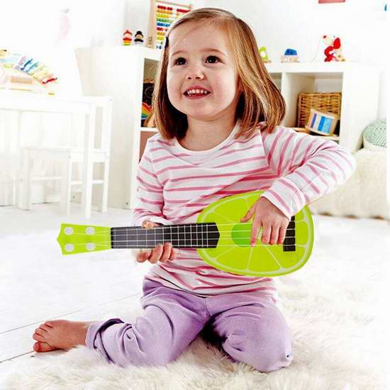 New Sky Tech 水果造型4弦儿童玩具吉他 15.99元限量特卖!