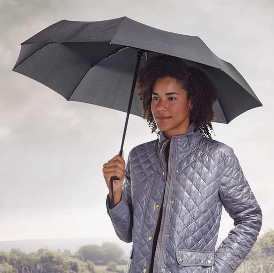 历史新低!AmazonBasics 黑色折叠式自动雨伞5.6折 11.19-13.99加元限时特卖!
