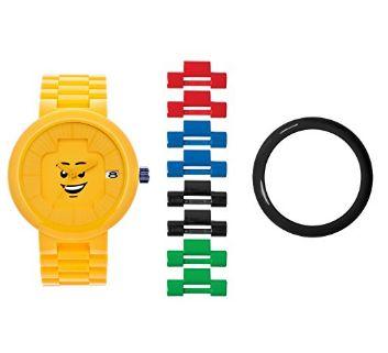 LEGO 乐高 Unisex 9007347 黄色幸福笑脸成人腕表6.6折 55.75加元限时特卖并包邮!
