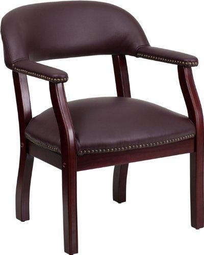 历史新低!Flash Furniture B-Z105-LF19-LEA-GG Burgundy 豪华皮革单人扶手椅 79.36加元包邮!
