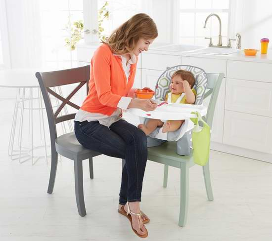 两款 Fisher-Price 费雪 Spacesaver 成长型婴幼儿餐椅 49.99加元限时特卖并包邮!