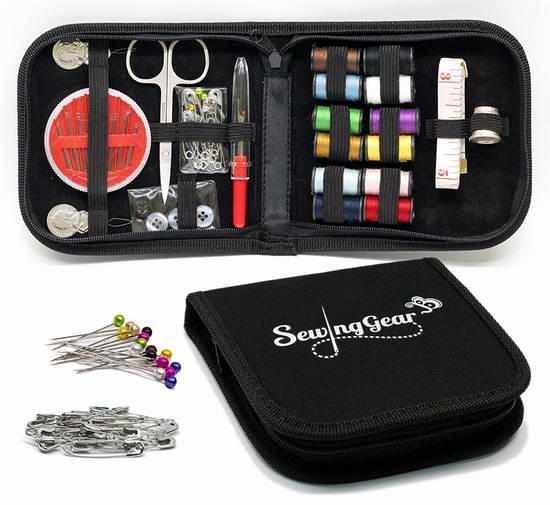 Sewing Gear 便携式针线包套装 15.96加元限量特卖!