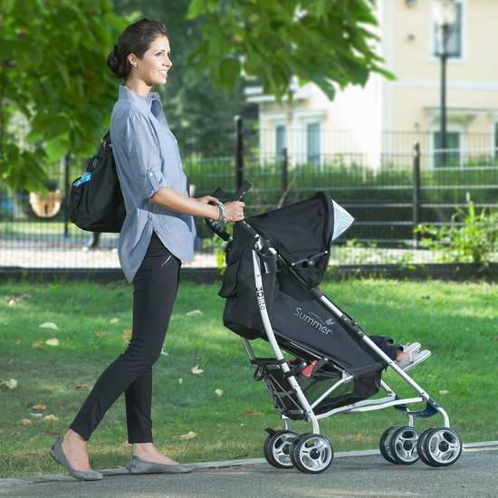 Summer Infant 3D Lite 超轻婴儿推车6.2折 74.99加元限时特卖并包邮!三色可选!