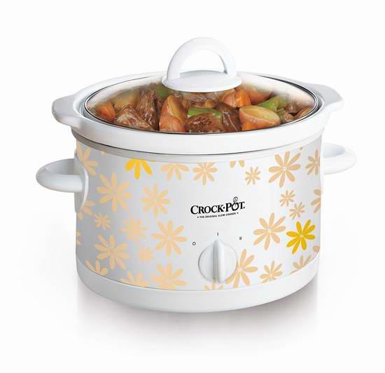 Crock-Pot 2.5夸脱慢炖锅6折 14.88加元限时特卖!