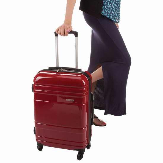 精选9款 Samsonite 新秀丽 Caribbea Ltd 系列 21.5/25.5/29.5英寸硬壳拉杆行李箱2.7折 79.99-119.99加元限时特卖并包邮!三色可选!