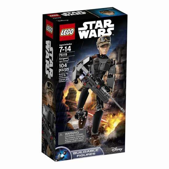 LEGO 乐高 75119 星球大战系列 军士 Jyn Erso 积木4.5折 15加元限时特卖!