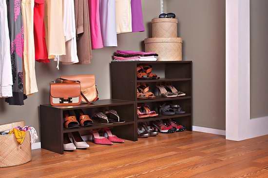 ClosetMaid 8993/8995 24英寸多用途收纳架/鞋架2.6折 16.88加元限时特卖!两色可选!