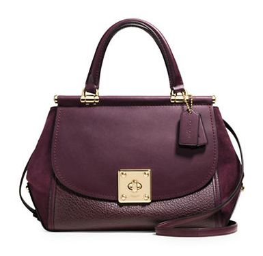 COACH Drifter 女士经典大翻盖时尚手提/单肩包4.9折 362.59加元限时特卖并包邮!