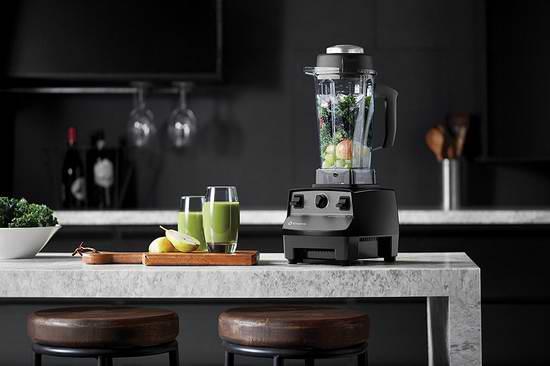 历史最低价!Vitamix 维他美仕 专业200系列 1801 多功能全营养 破壁料理机/搅拌机 399.99加元限时特卖并包邮!