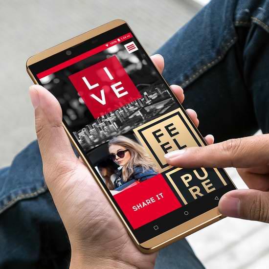历史新低!BLU Vivo XL 4G LTE-GSM 5.5英寸解锁版智能手机 185.99加元限时特卖并包邮!两色可选!