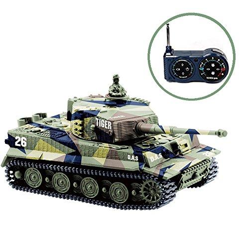BlueFit Panzer 德国老虎 I 仿真遥控坦克 25.49加元限量特卖并包邮!