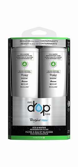 金盒头条:精选5款 Whirlpool EveryDrop 冰箱饮用水过滤器滤芯特价销售,最高额外8.5折!