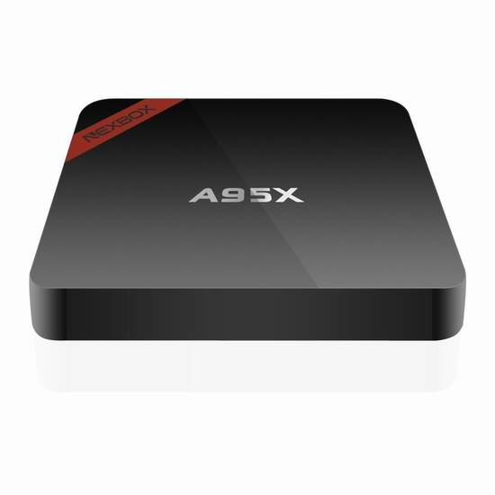 NEXBOX A95X 3D 4K高清四核蓝牙流媒体播放器/网络电视机顶盒 45.59加元限量特卖并包邮!