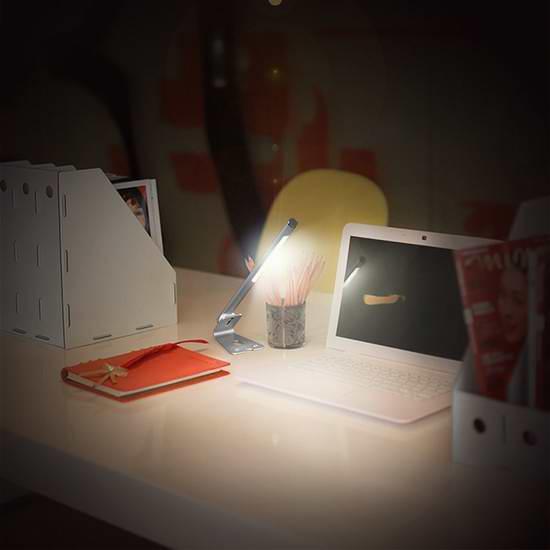 历史新低!dodocool 触控式多功能便携磁吸可充电LED台灯 18.99加元限时特卖!