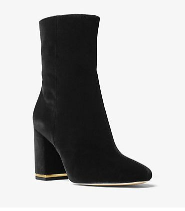 Michael Kors Ursula 天鹅绒踝靴 199加元(8,8.5码),原价 268加元,包邮
