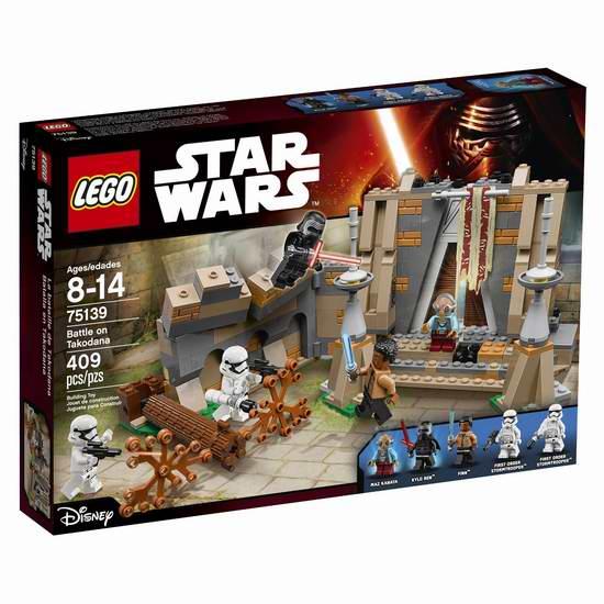 LEGO 乐高 75139 星球大战系列 森林城堡之战积木套装(409pcs)5.3折 40加元限时特卖并包邮!