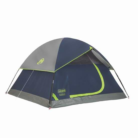 历史新低!Coleman Sundome 4人家庭野营帐篷 90.12加元限时特卖并包邮!