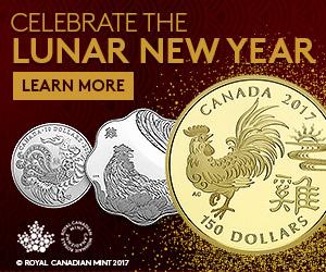 皇家铸币厂 多款2017农历鸡年生肖限量版纪念币 29.95加元起销售并包邮!