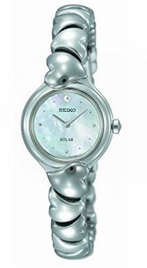 历史新低!Seiko 精工 SUP097 女士纯色太阳能腕表5.6折 112.93加元限时特卖并包邮!