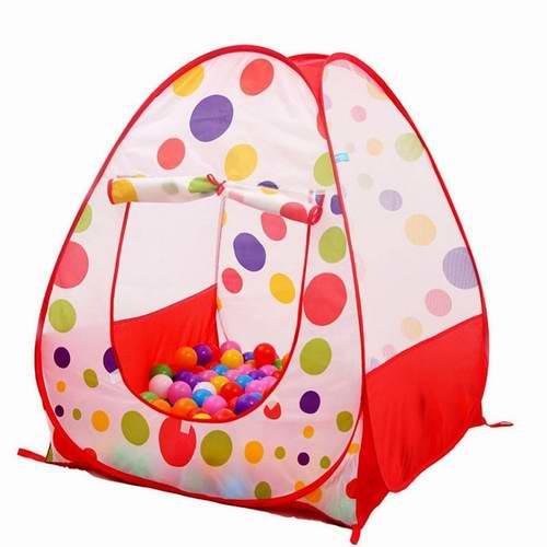 历史新低!KINDEN 室内/室外 弹出式儿童游戏帐篷(不含球) 19.99加元!
