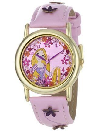 历史新低!Disney 迪士尼 Tangled Rapunzel 女童粉红石英腕表 14.63加元限时特卖!