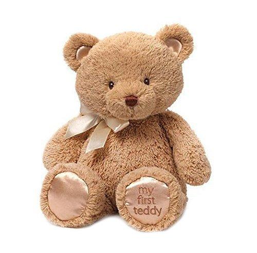 Gund Baby My 1st Teddy 15英寸超萌泰迪熊玩偶 13.99加元!