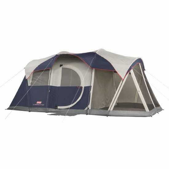 历史最低价!Coleman Elite WeatherMaster 两室6人帐篷 246.68加元限时特卖并包邮!