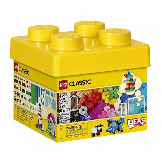 LEGO 乐高 10692 创意积木盒(221pcs) 15.97加元限时特卖并包邮!
