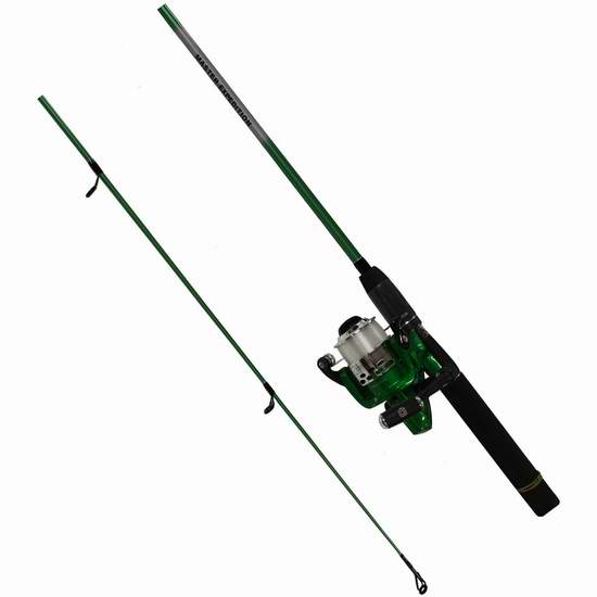 Master Fishing Tackle 408/3059 1.98米钓鱼竿套装 12.01加元限时特卖!