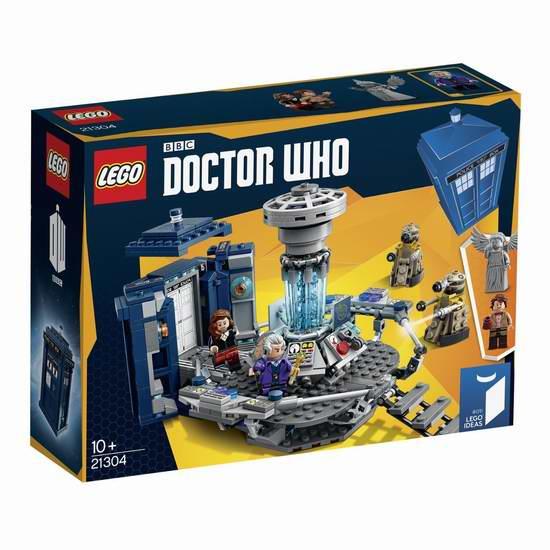 售价大降!历史新低!LEGO 乐高 创意系列 21304 神秘博士积木套装(623pcs)6折 41.98元限时特卖并包邮!