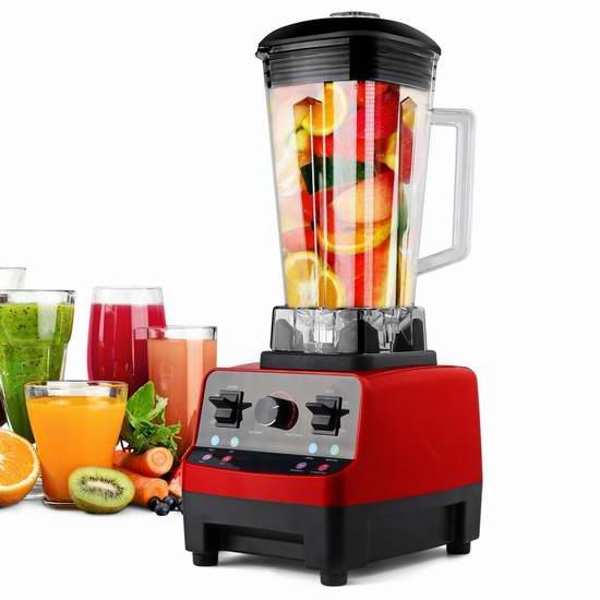 Fivanus HY-13 多功能全营养 2.2马力商业级破壁料理机/搅拌机 151.98加元限量特卖并包邮!