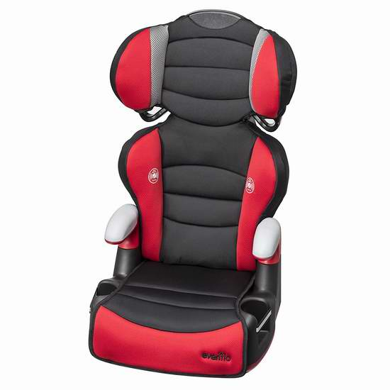 Evenflo 二合一儿童加高安全座椅 59.97加元包邮!2色可选!