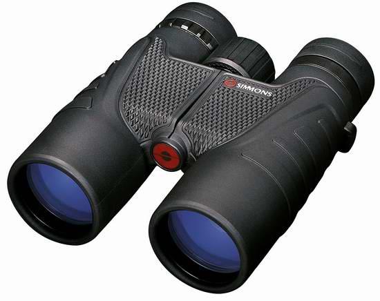 历史新低!Simmons ProSport 12x 50mm 防水防雾双筒望远镜4折 62.04加元限时特卖并包邮!