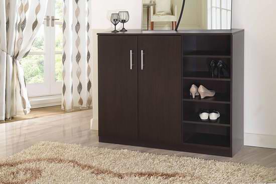 历史新低!Furniture of America Enitial Lab Astro 多功能橱柜/鞋柜4.5折 176.37加元限时特卖并包邮!