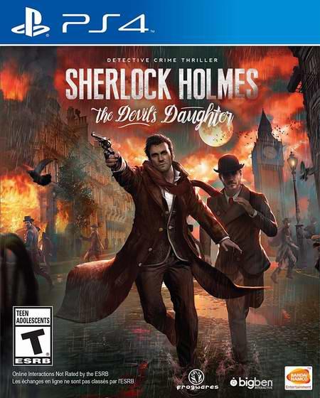 金盒头条:历史新低!《Sherlock Holmes: The Devil's Daughter 福尔摩斯:恶魔之女》PS4/Xbox One版5折 24.99加元限时特卖!