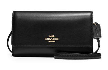 COACH Crossbody 女士真皮时尚手机包/斜挎包5.6折 89.59加元