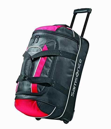 Samsonite 新秀丽 Luggage Andante 22英寸拉杆登机旅行包5.6折 57.69元限时特卖并包邮!