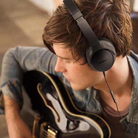 Bose SoundTrue 耳罩式耳机II(iPhone款) 129元限时特卖并包邮!两色可选!