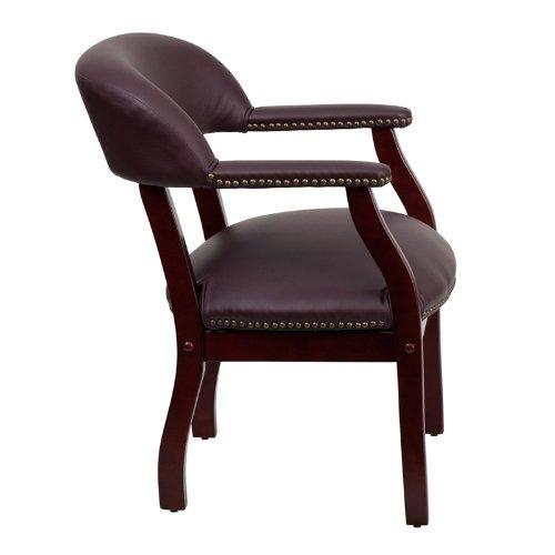 历史新低!Flash Furniture B-Z105-LF19-LEA-GG Burgundy 豪华皮革单人扶手椅5.7折 124.03加元限时特卖并包邮!