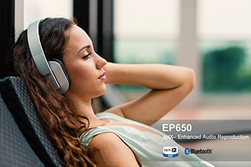August EP650 无线蓝牙立体声头戴式耳机 49.25-50.95加元限量特卖并包邮!5色可选!