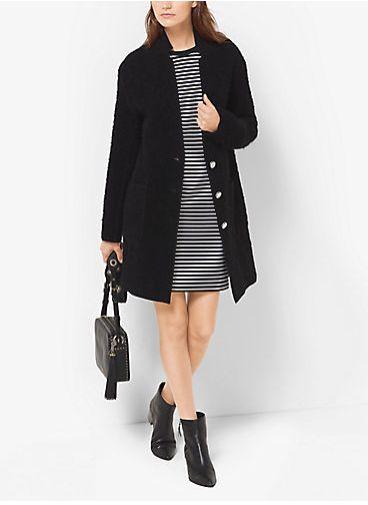 MICHAEL Michael Kors 羊毛修身大衣 149.25加元(xl),原价 295加元,包邮