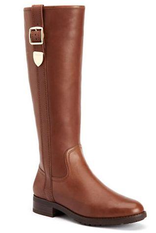 COACH Easton Tall 真皮长靴 204加元(6,7码),原价 340加元,包邮