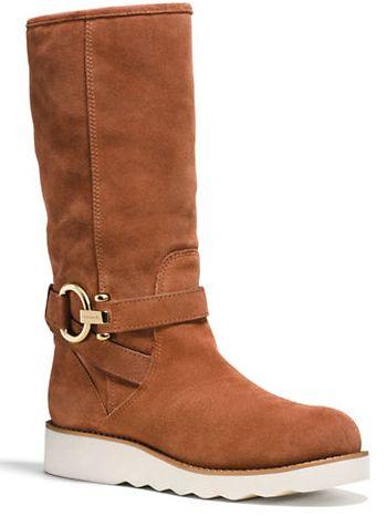 COACH Virtue 女款麂皮长靴 164加元(7.5码),原价 328加元,包邮