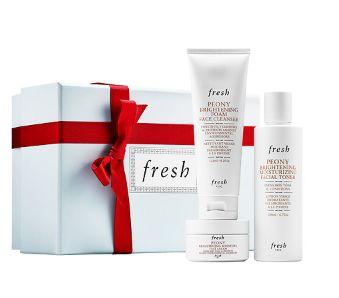 Fresh 牡丹焕白护肤系列 3件套 129.2加元,原价 152加元(价值 203加元),包邮